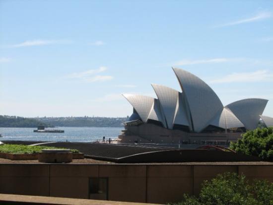 Sydney Opera House: Opera House from the South Bridge Pylon