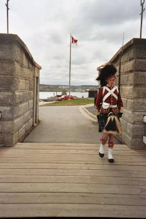 Guarding the Citadel, Halifax NS
