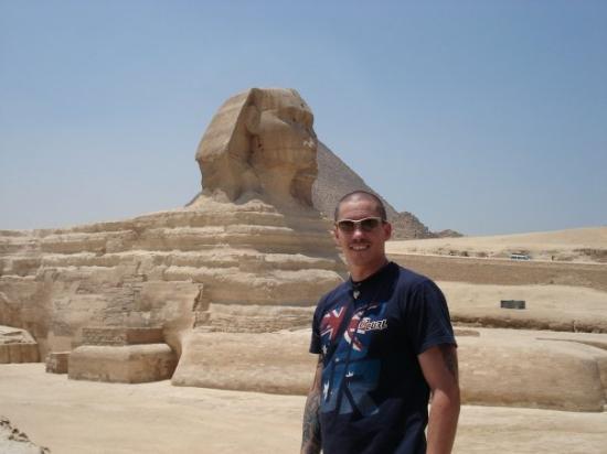 Giza, Egypt: The Sphinx