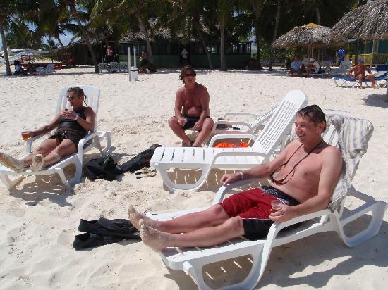 Hotel Roc Santa Lucia (Ex Gran Club): beach not crowded