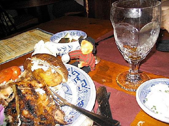 Dobbin House Tavern: Spit roasted chicken
