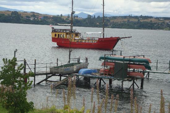 Puerto Varas, Chile: vista del lago Llanquihue