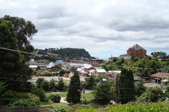 Puerto Varas, Chile: vista de la ciudad de Varas desde la iglesia