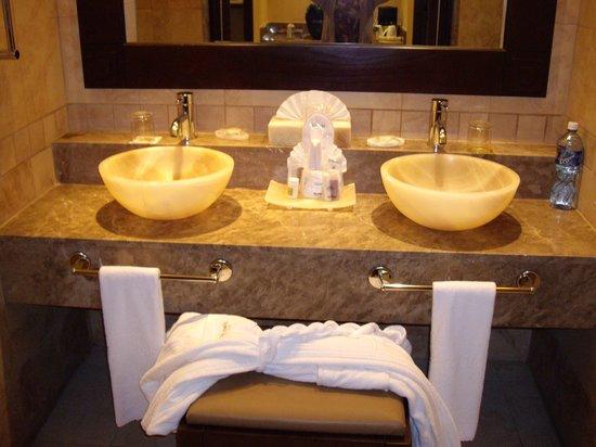 Barcelo Maya Beach: chambre de bain magnifique
