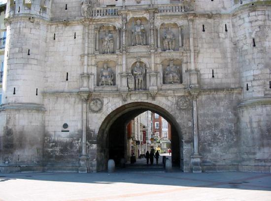 Burgos, Spania: El Arco de Santa María