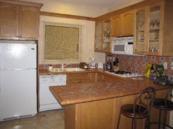 Villa del Palmar Flamingos Beach Resort & Spa Riviera Nayarit: The kitchen area