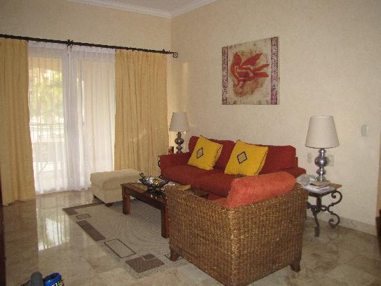 Villa del Palmar Flamingos Beach Resort & Spa Riviera Nayarit: Living room