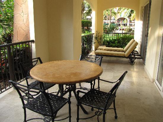 Villa del Palmar Flamingos Beach Resort & Spa Riviera Nayarit: Lanaii