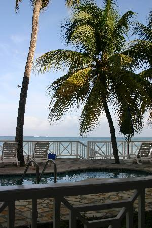 Villa Beach Cottages: View from our room