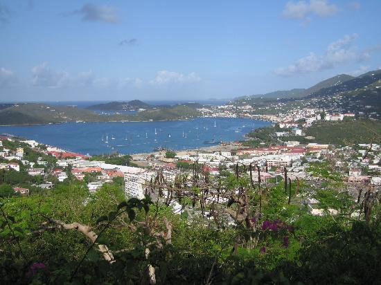 Villa Blanca Hotel: Charlotte Amalie Harbor