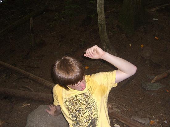 Grouse Mountain: hard work