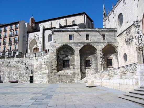 Meson del Cid: Plaza de Santa María
