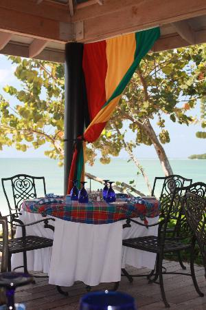 Sandals South Coast: Lunch on the beach at Bluefields