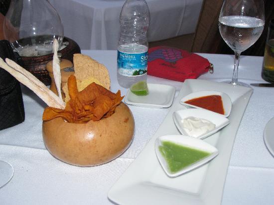 Restaurante Mar y Cielo: Salsas