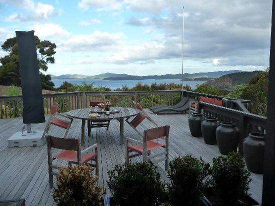Pukematu Lodge: View from Deck