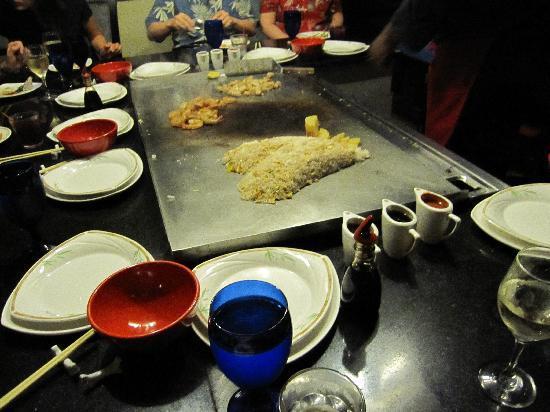 Sandals Regency La Toc: Kimono dinner