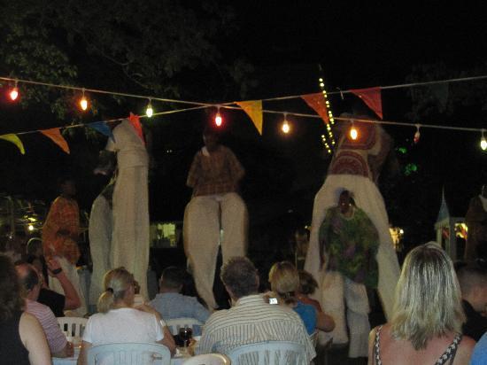 """Sandals Regency La Toc: """"Street Party"""" night- really fun"""