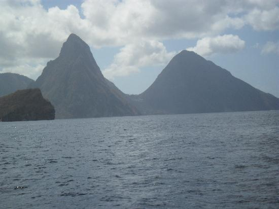 Sandals Regency La Toc: Pitons