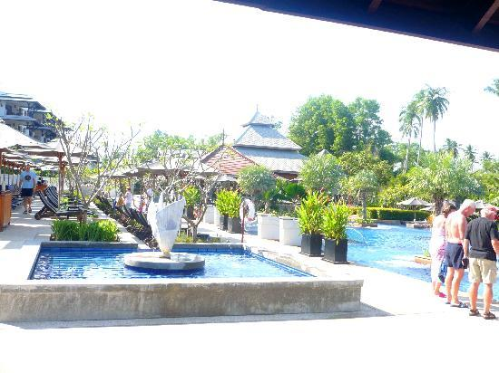 Marriott's Mai Khao Beach : VIEW FROM MAIN LOBBY