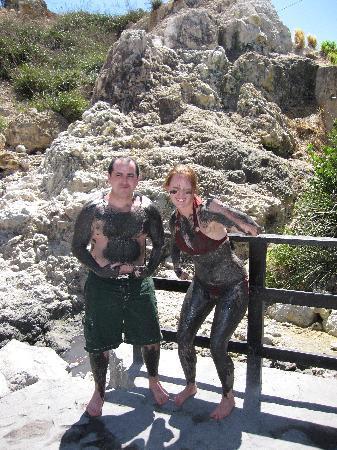 Joe Knows Tours: Volcano mud bath
