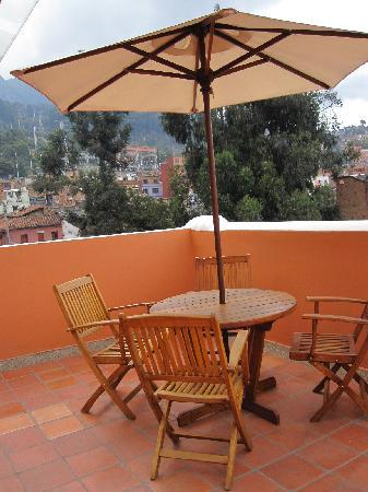 Hotel Casa Deco : patio