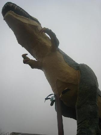 World's Largest Dinosaur: The Big Dinosaur at Drumheller Alberta