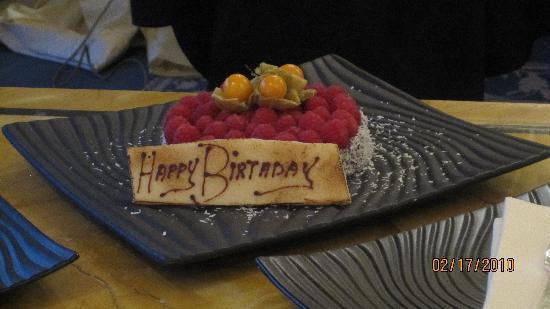 Rome Cavalieri, A Waldorf Astoria Resort: Birthday treat!