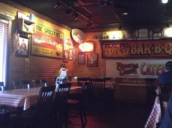 Famous Dave's: 1 of the dining areas