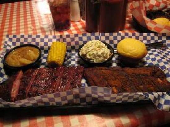 Famous Dave's: Dave's delicious ribs!