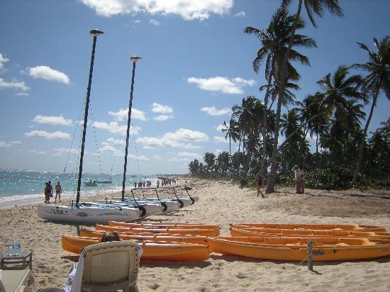 Majestic Elegance Punta Cana: kayak, catamaran, snorkling..all included