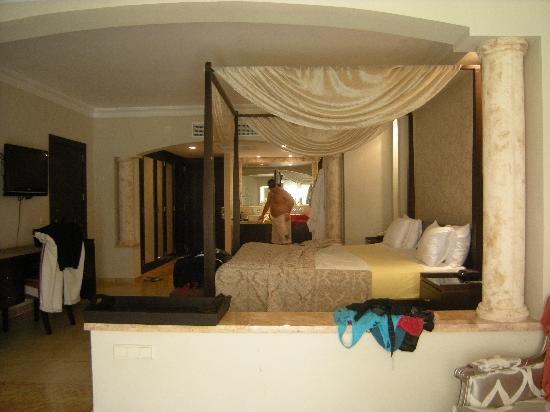 Majestic Elegance Punta Cana: Junior suite...the regular room at the majestic
