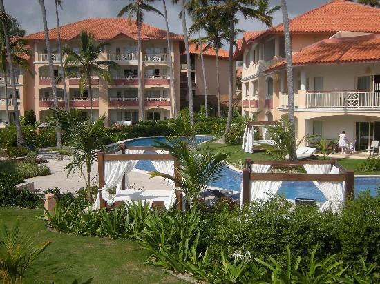 Majestic Elegance Punta Cana: Hotel view from the See&sea restaurat