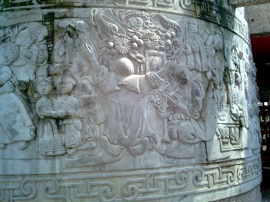 Papantla, Veracruz, Mexico. decoraciones en el Museo del Tajin