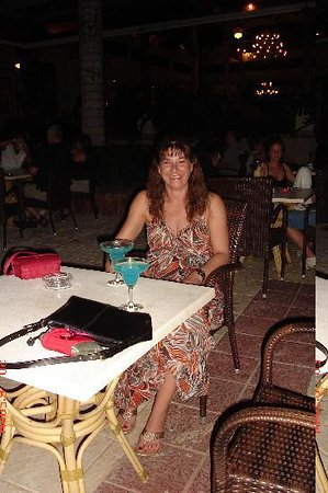 Grand Bahia Principe Punta Cana: In the Lobby after supper