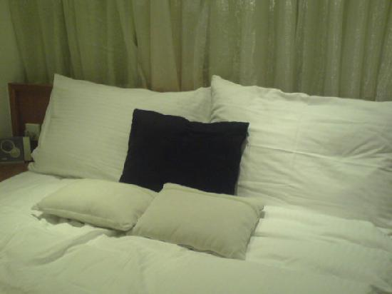 Lanson Place Hotel: small but comfortable bed