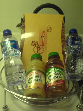 Lanson Place Hotel: complimentary / welcome basket