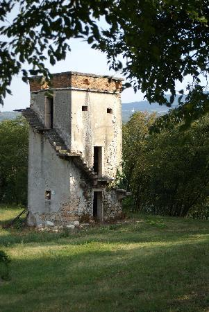 Agriturismo Delo Relais: Ancient Hunting Tower at Agriturismo Delo