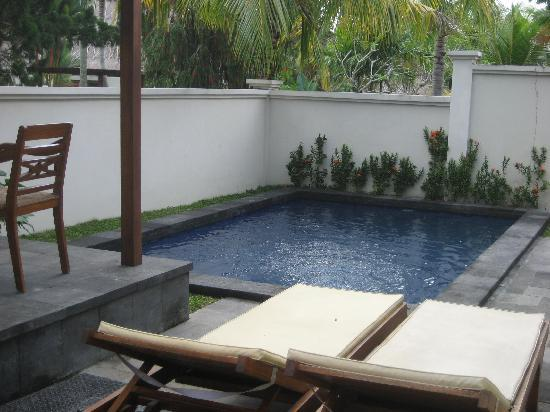 Pertiwi Resort & Spa: Our own lunge pool