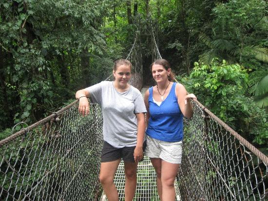 Arenal Hanging Bridges: Chillaxing on the bridges