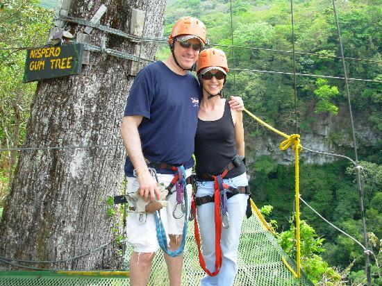 Papagayo Vargas Tours: Ready to zip!