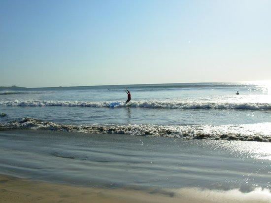Point Break Surf School: Husband Falling