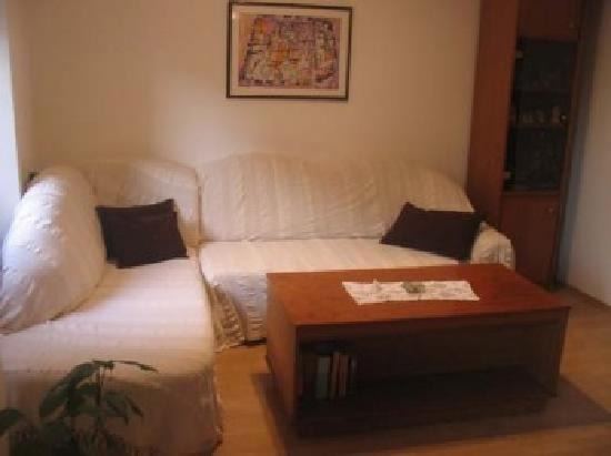 House Katarina - Old town: living room apartment Danijela
