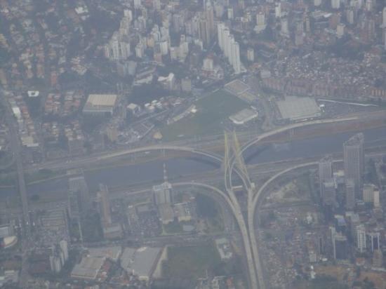 Cool bridge in Sao Paulo