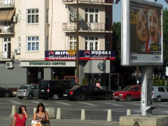 Starbucks in Sofia, Bulgaria
