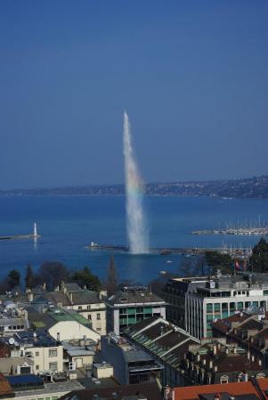 Genf jelkepe....Jet d'eau