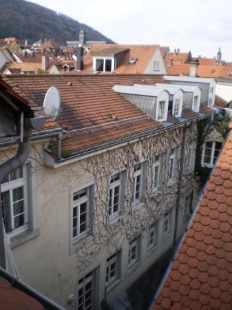 Heidelberg, Tyskland: View from my hotel window.