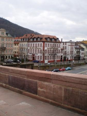 Heidelberg, Tyskland: Our hotel in Heidelburg.