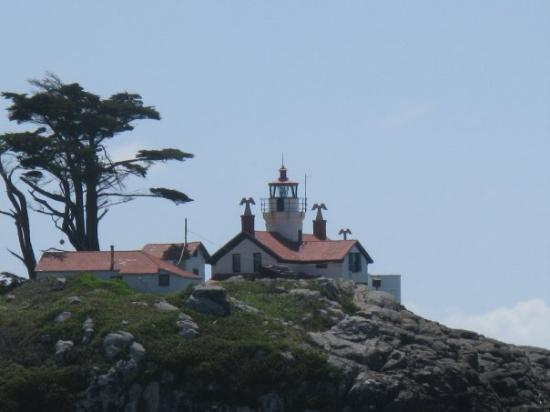Batter Point Lighthouse, and another beautiful day here in Crescent City, CA