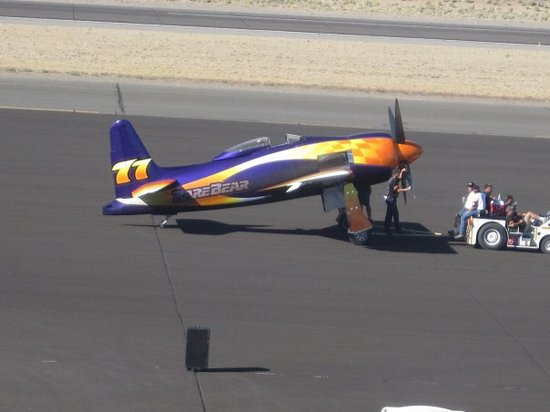 Reno, NV: A plane with a $100,000 paint job called Rare Bear.