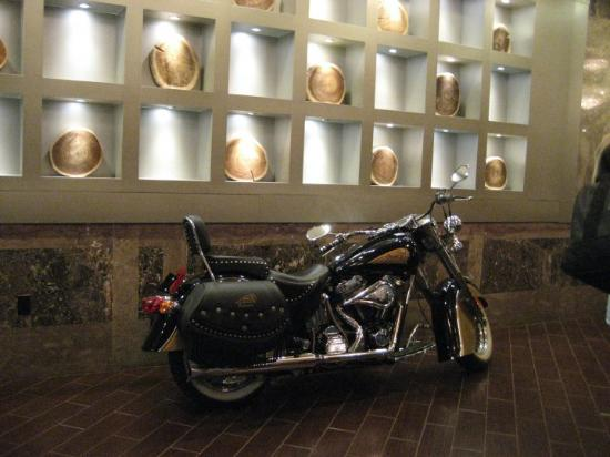 "Sheraton Springfield at Monarch Place: ""Moto-cycle"" exhibit in Springfield. What a hotel! Great everything"